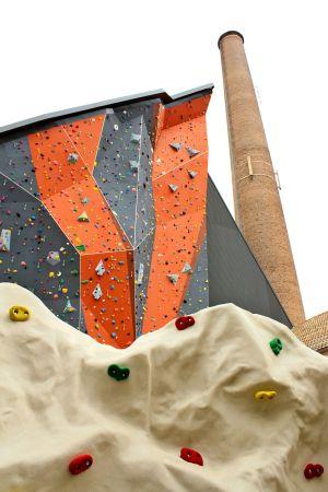 Le Climbing Mulhouse Center, dans les anciennes usines de DMC