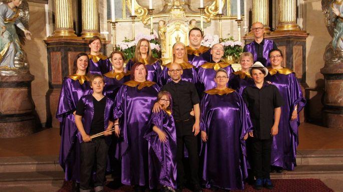 L\'Association Cœurs à Chœurs chante du gospel