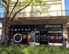 Le salon de coiffure Alverson à Mulhouse