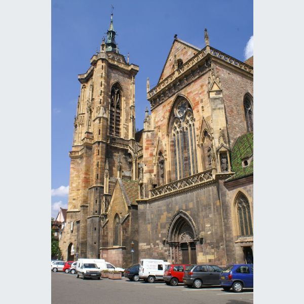 Collégiale Saint-Martin Cathédrale De Colmar