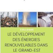 Colloque : Les énergies renouvelables dans le Grand Est