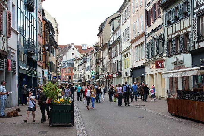 Colmar a le centre-ville commerçant le plus dynamique de France, dans la catégorie des grandes villes moyennes