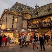 Noël 2019 à Colmar : Marché de Noël de la Place de l'Ancienne Douane