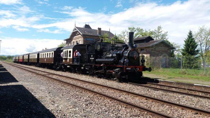 Le train à vapeur CFTR