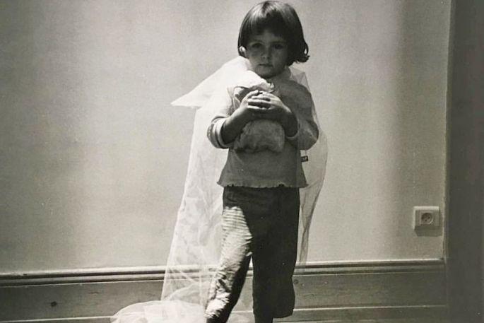 Cette photo d\'Anne Immelé lui rappelle un autre cinéaste : Kubrick - on vous laisse deviner la référence.