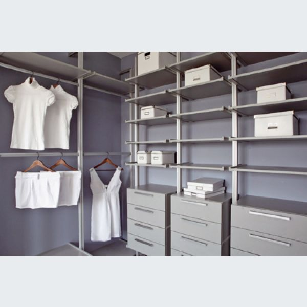 Comment am nager efficacement un dressing for Salle de bain 6m2 rectangulaire