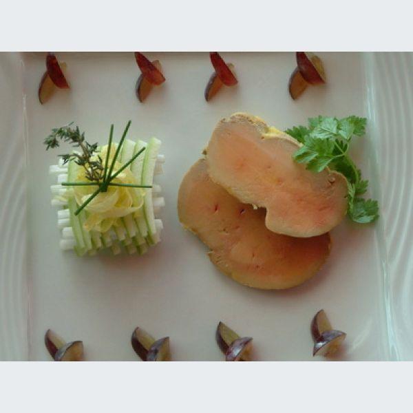 Comment cuire le foie gras po l - Cuisiner un foie gras congele ...