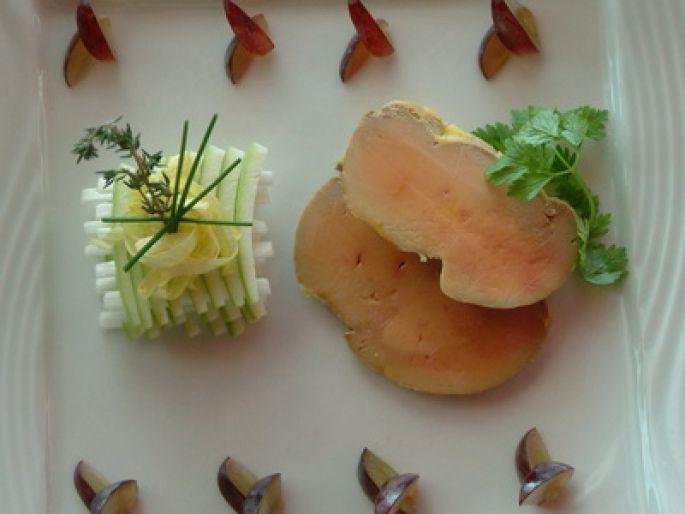 Comment cuire le foie gras poêlé...