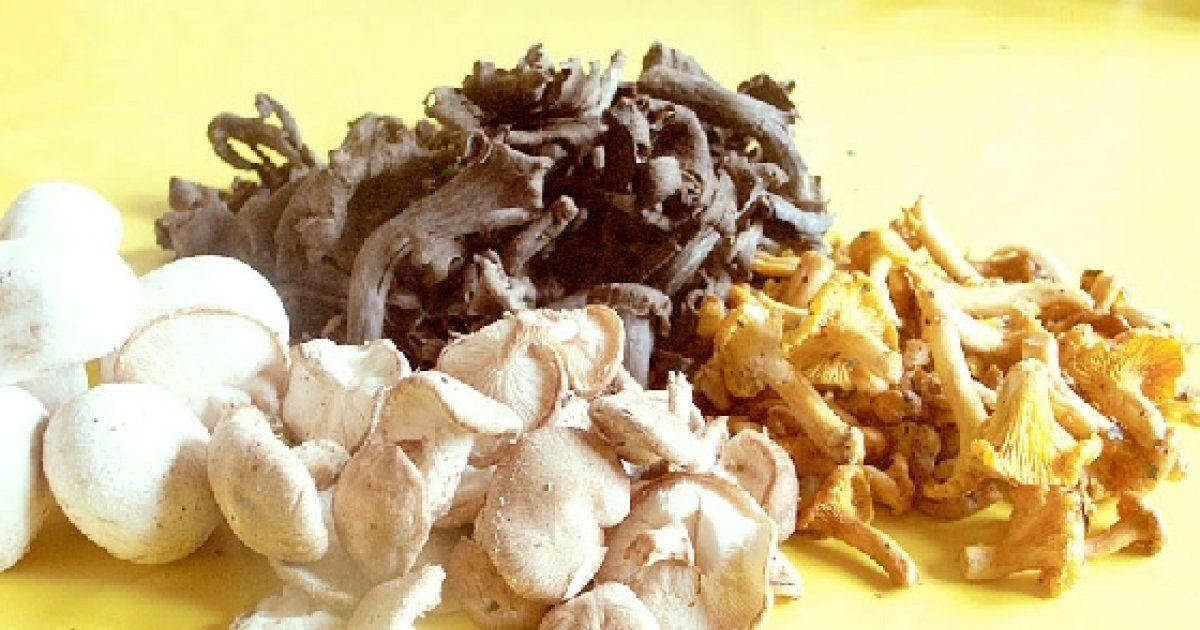 Comment laver les champignons frais - Comment cuisiner les champignons frais ...