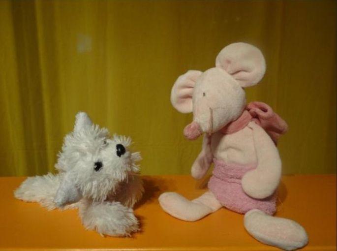 Le spectacle «Sauvons les nounours» de la Compagnie Bruits d'Elles, fait des peluches de véritables acteurs !