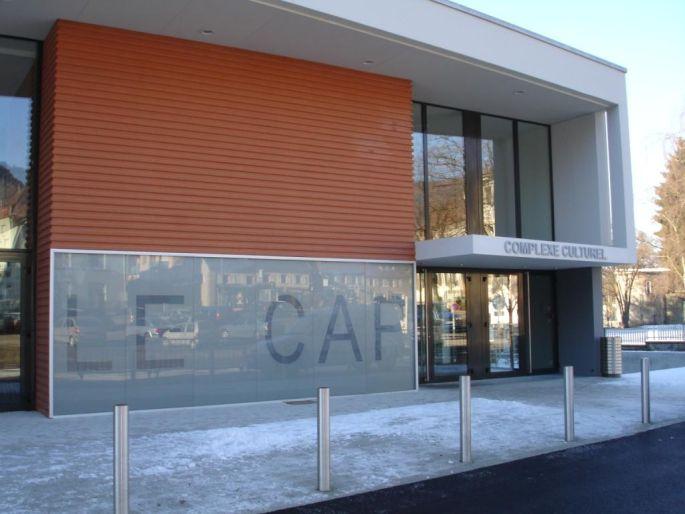 Le Complexe culturel le CAP à Saint-Amarin