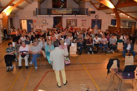 Le public est nombreux pour les conférences à Pfaffenheim