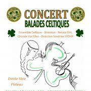 Concert de balades celtiques