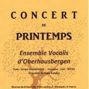 Concert de printemps - Ensemble Vocalis