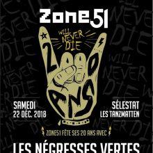 Concert des 20 ans de Zone 51