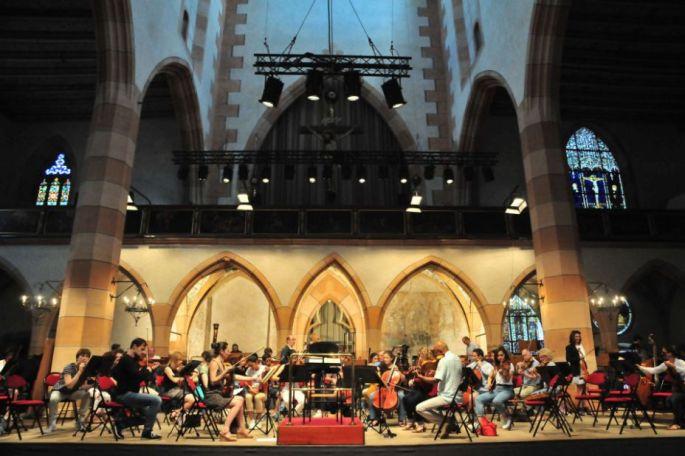 Une partie des concerts du Festival Musique et Culture se déroulent à l\'église Saint Matthieu