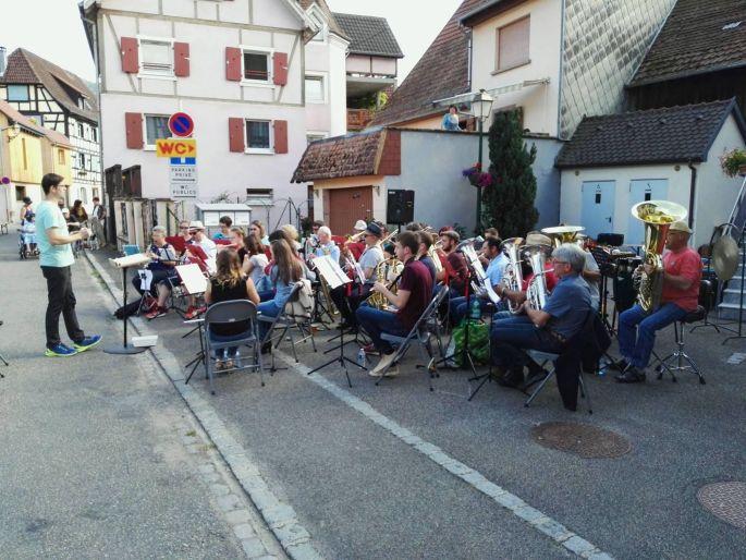 Concert Musique et Flamm\'s en Fête