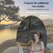 Concert Solidaire - Chants suédois et harpe