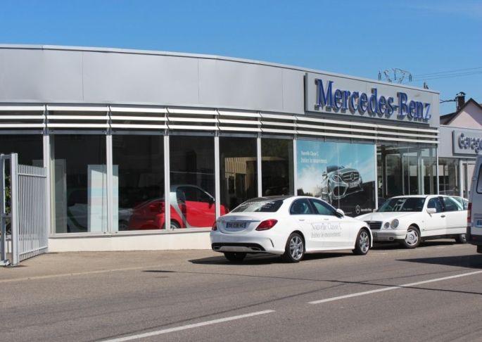 Concession Mercedes - Garage Dietrich à Ingersheim