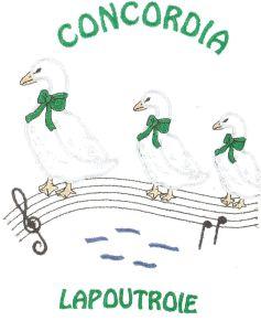 Concordia de Lapoutroie et musique Ste Cécile de Sigolsheim