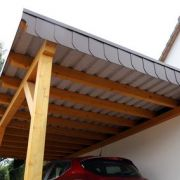Construction d'un carport