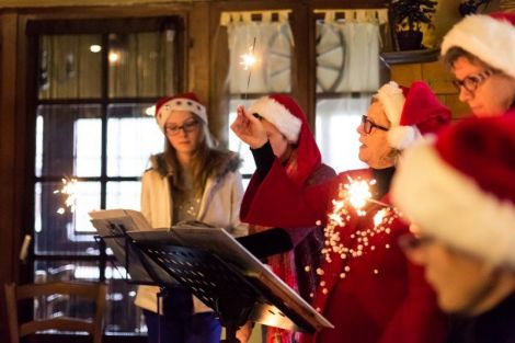 Des histoires de Noël en musique à l\'auberge