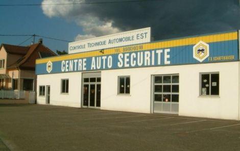 Le centre de contrôle technique Auto Sécurité de Colmar / Wintzenheim