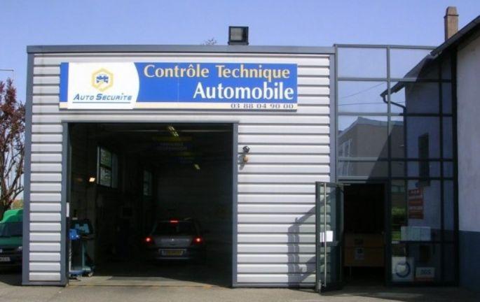Le centre de contrôle technique Auto Sécurité de Molsheim