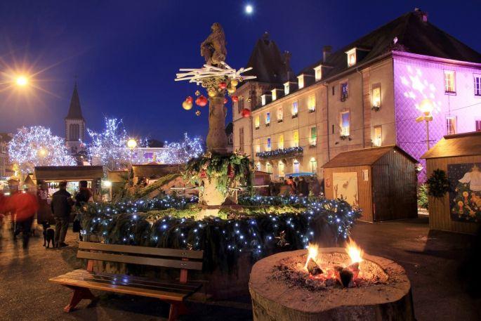 Convivial et intimiste, le marché de Noël de Munster