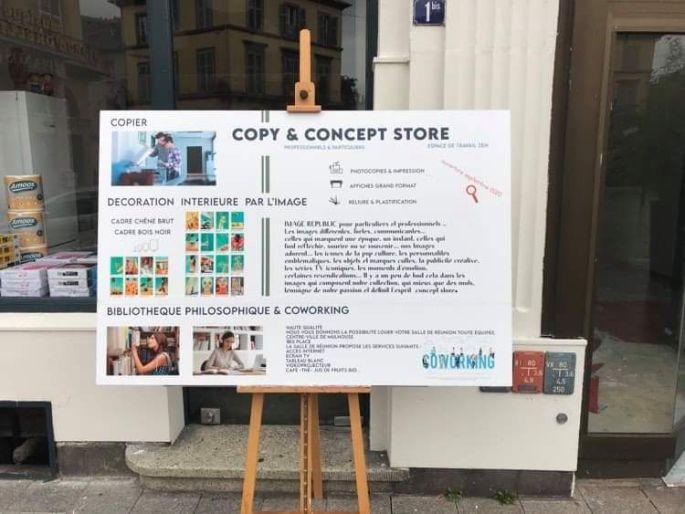 Copy & concept store