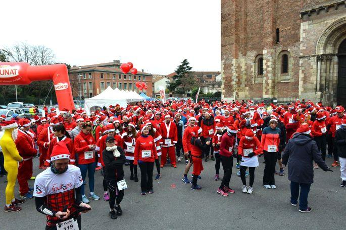 Corrida de Noël à Toulouse