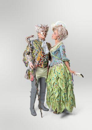 Costume sur le thème «La métamorphose ou les serpents (Die Metamorphose oder die Schlangen)», réalisé par l\'Atelier Jacky Blanchard (France, 2006)