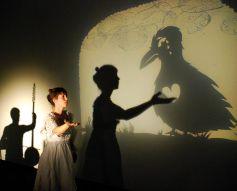 Couleur corbeau, un spectacle d\'ombres et de musique de la cie Moska