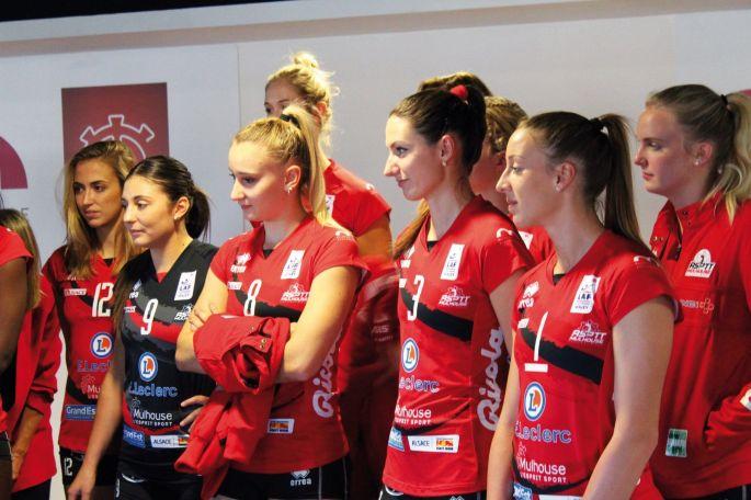 Les filles de l\'ASPTT Mulhouse vont tout donner pour remporter la Coupe de France 2019