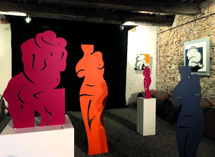 Les œuvres d\'Agnès Descamps à découvrir chez Courant d\'Art à Mulhouse