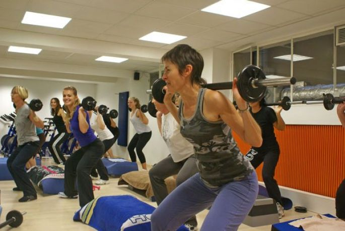 Cours collectifs: bouger en rythme