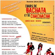 Cours de Bachata et Chachacha