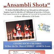 Cours de danse Albanaise