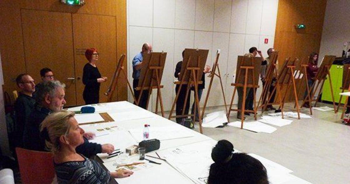 Cours de dessin avec mod le erstein atelier cr atif for Deco 6 brumath