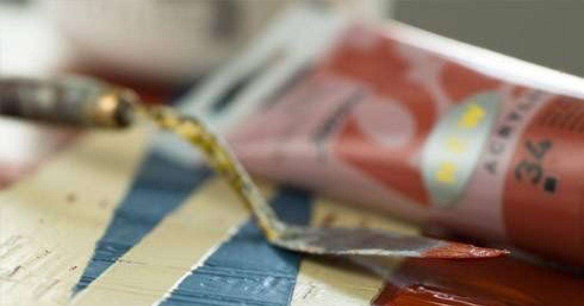 Cours de peinture design acrylique colmar atelier for Cours de design