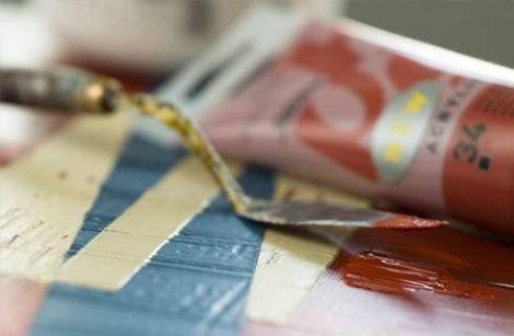 Cours de peinture design Acrylique