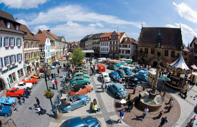 Les Cox\' envahissent les rues de Molsheim