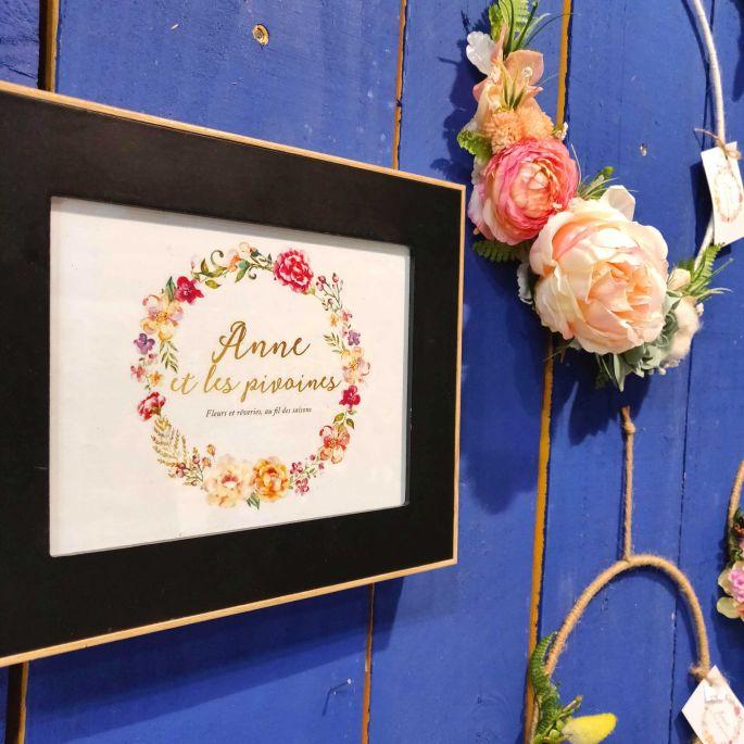 Anne et les pivoines, l'art du floral qui dure