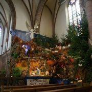 Crèche de l\'église Saint Antoine