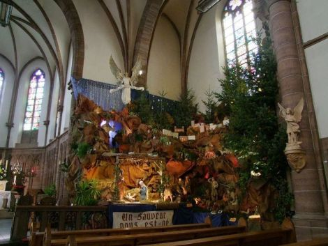 Crèche de l'Eglise Saint Antoine