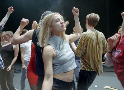 Crowd, la création 2017 de Gisèle Vienne