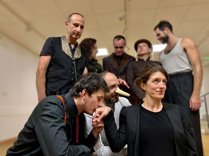 Cyrano revu et corrigé par la compagnie Mosaïque
