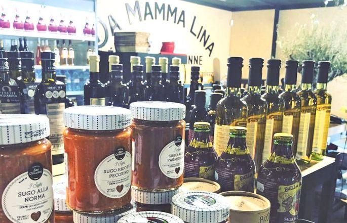 L\'épicerie italienne Da Mamma Lina à Mulhouse