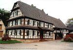 Dans les rues de Climbach, ancienne ferme