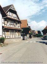 Dans les rues de Froeschwiller